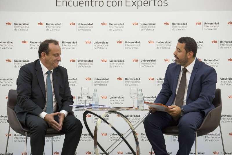 Pedro Horrach en los encuentros de la VIU