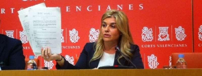 La secretaria general del PPCV, Eva Ortiz.