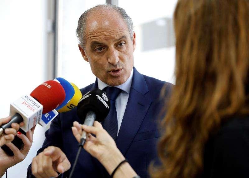 El expresident de la Generalitat, Francisco Camps. EFE/Archivo