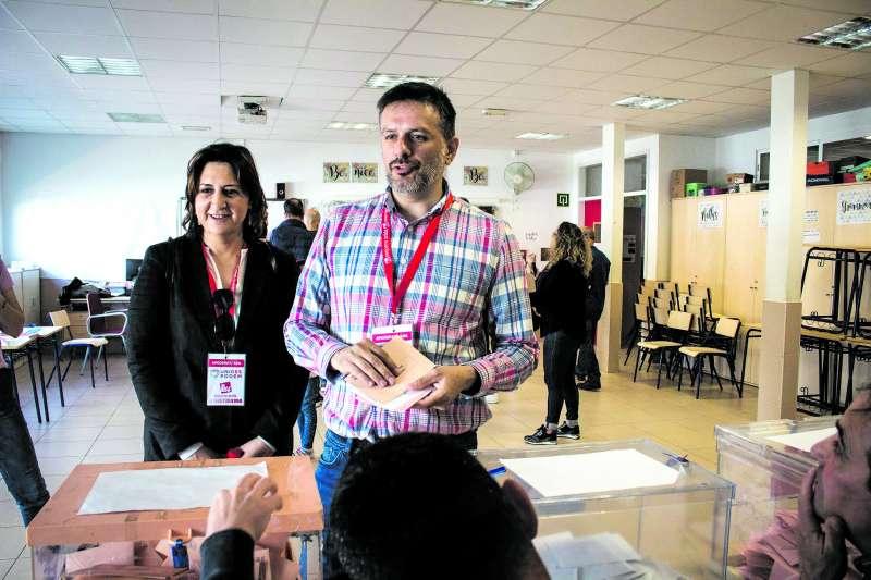 Portillo votando en las pasadas elecciones.