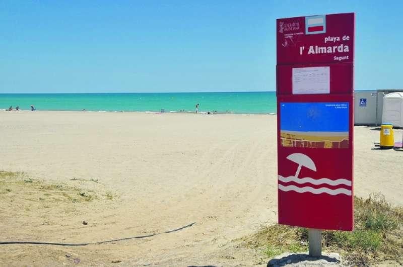 Playa Almardà. EPDA
