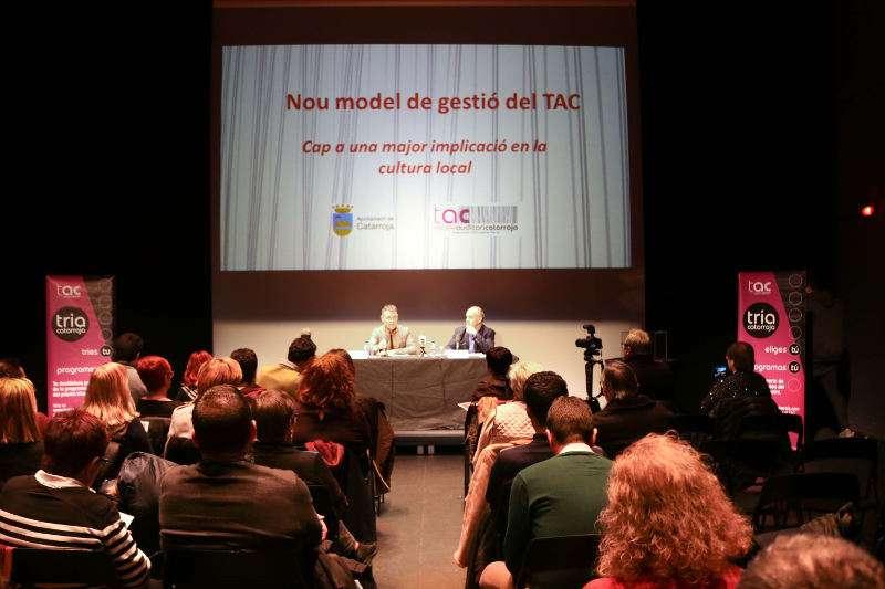Presentació al TAC de Catarroja. EPDA