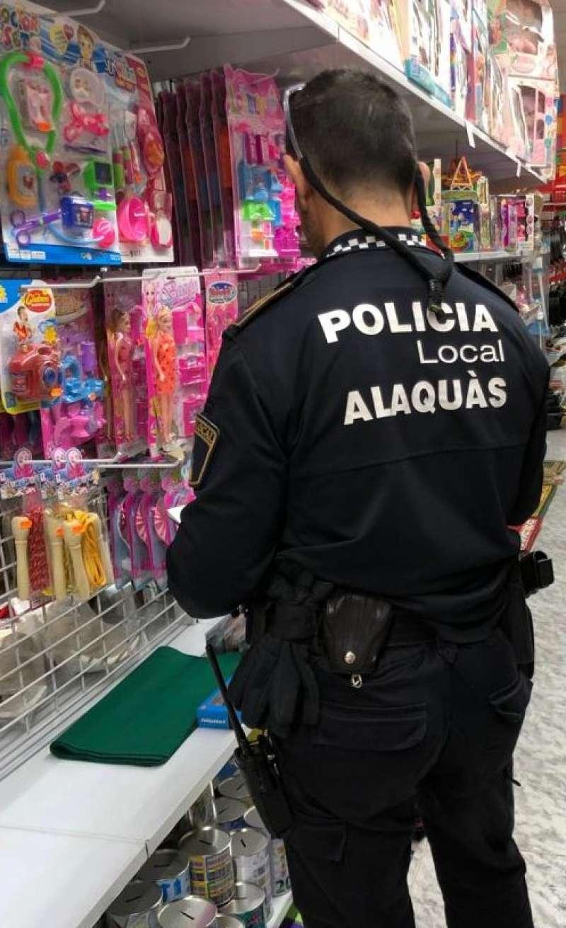 Un policía de Alaquàs
