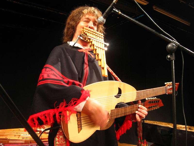 Oablo Nahual en concierto. EPDA