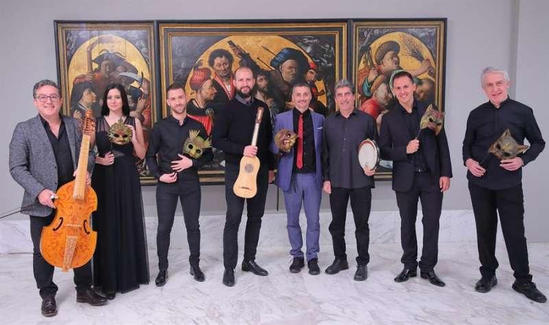 Capella de Ministrers, que actuará en la novena edición del Early Music Morella, Academia y Festival Internacional de Música Medieval y Renacentista, en una imagen facilitada por la organización. EPDA.