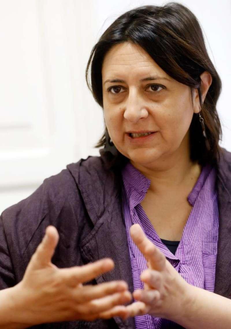 Rosa Pérez Garijo, en una entrevista con la Agencia EFE