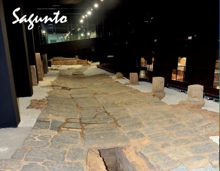 Imagen de ruinas de Sagunto. FOTO: DIVAL