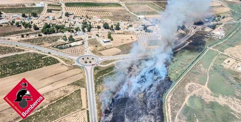 Foto del Consorcio Provincial de Bomberos de la Diputación de Alicante. EPDA