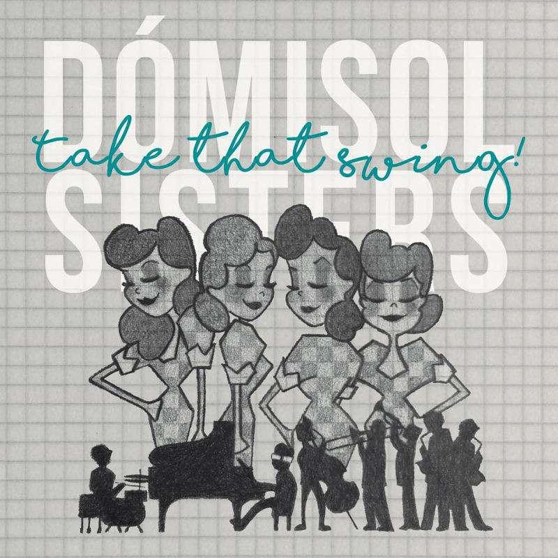 Carátula del disco de Dómisol Sisters. EPDA