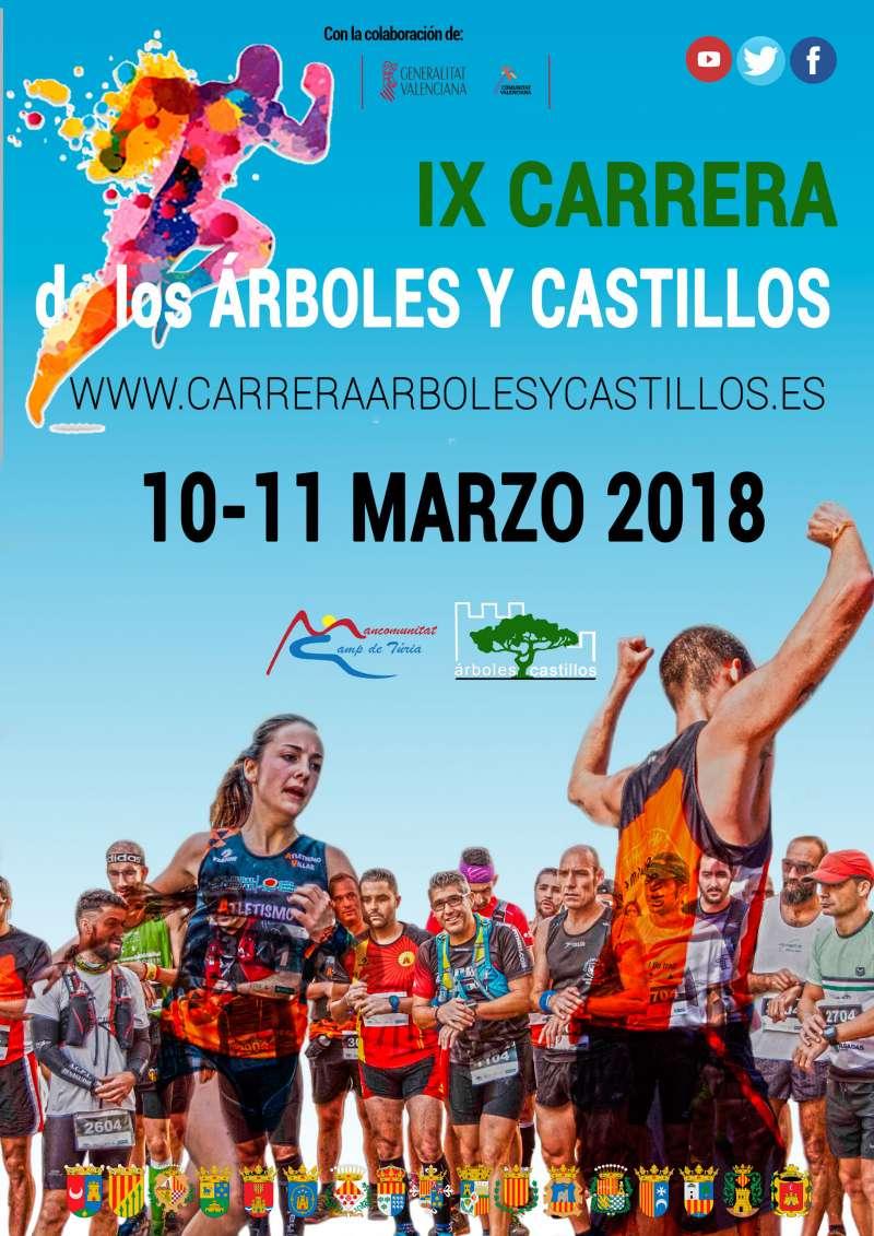 La Carrera de los Árboles y Castillos abre la temporada de grandes pruebas en el Camp de Túria