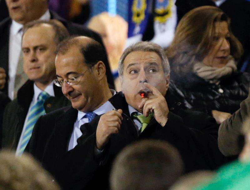 Alfonso Rus asiste a un encuentro del Olímpic de Xátiva, club del que fue presidente. EFE/Archivo