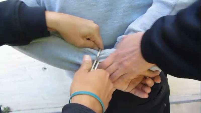 Imagen del hombre detenido por la Policía Local de Alboraya