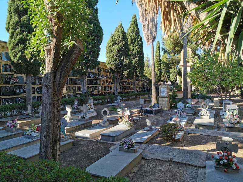 Un cementerio en una imagen de archivo. EPDA