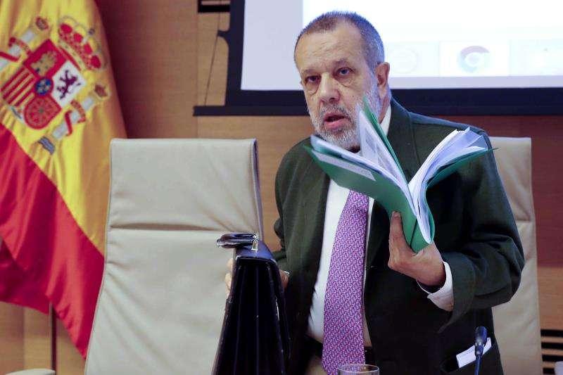 El defensor del pueblo, Francisco Fernández Marugán. EFE/Archivo