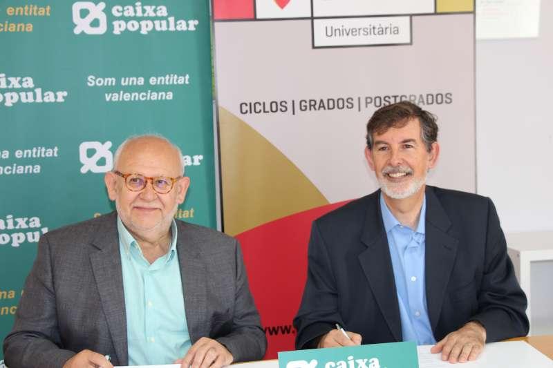 Enrique Luján y Rosendo Ortí