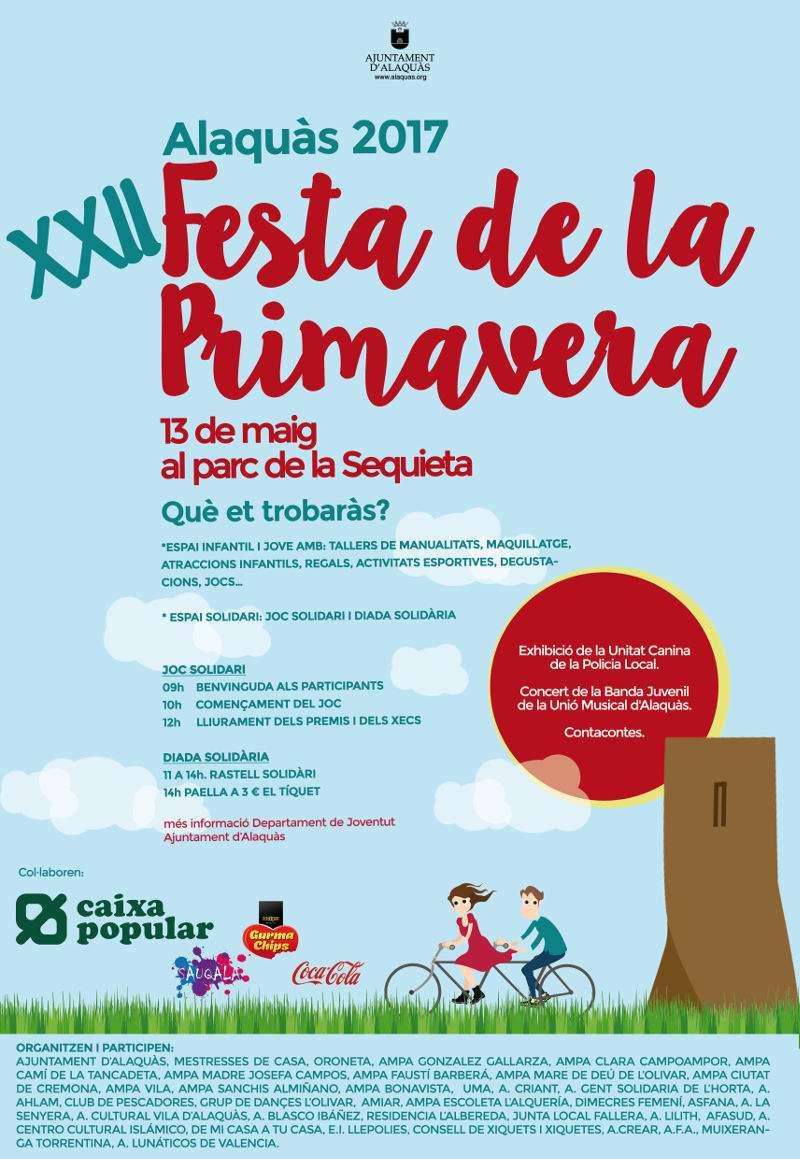 Cartell de la Festa de Primavera 2017. EPDA