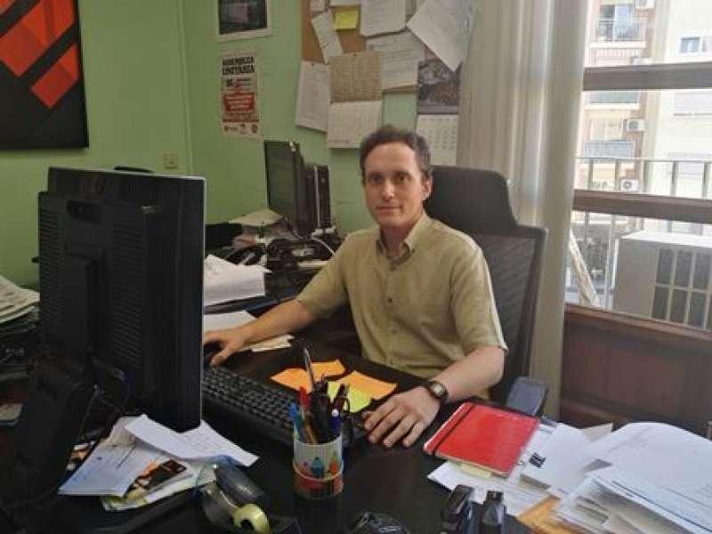 El regidor Santiago Lucas. EPDA