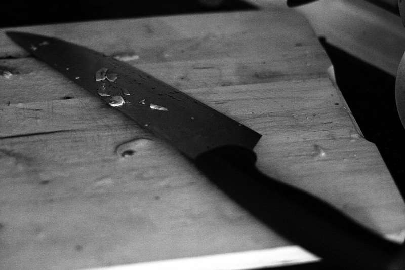 Cuchillo de cocina. EPDA