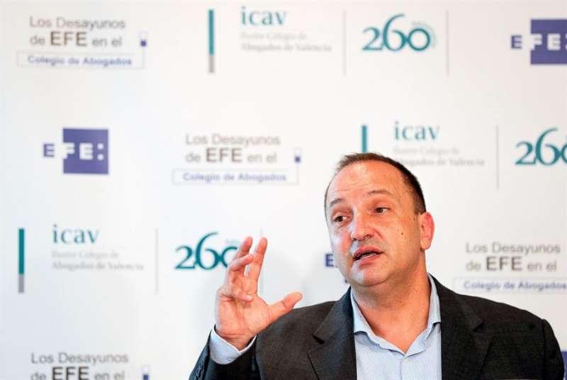 El vicepresidente segundo del Consell, Rubén Martínez Dalmau. EFE