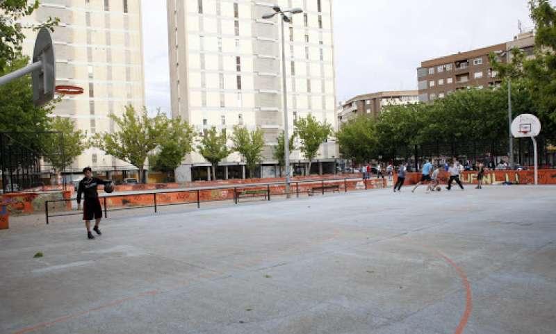 Cancha municipal. EPDA