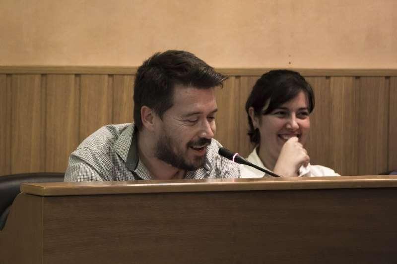 El portavoz de Paterna Sí Puede, Frederic Ferri. EPDA
