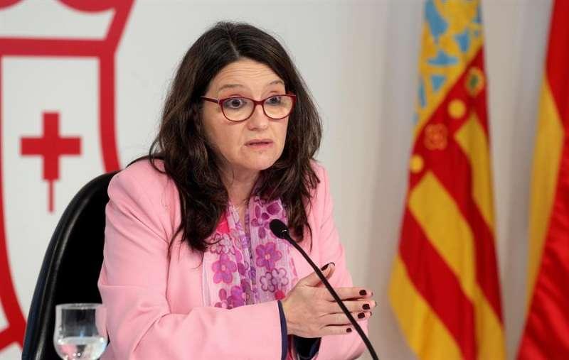 La vicepresidenta y portavoz del Consell, Mónica Oltra,. EFE/Kai Försterling/Archivo