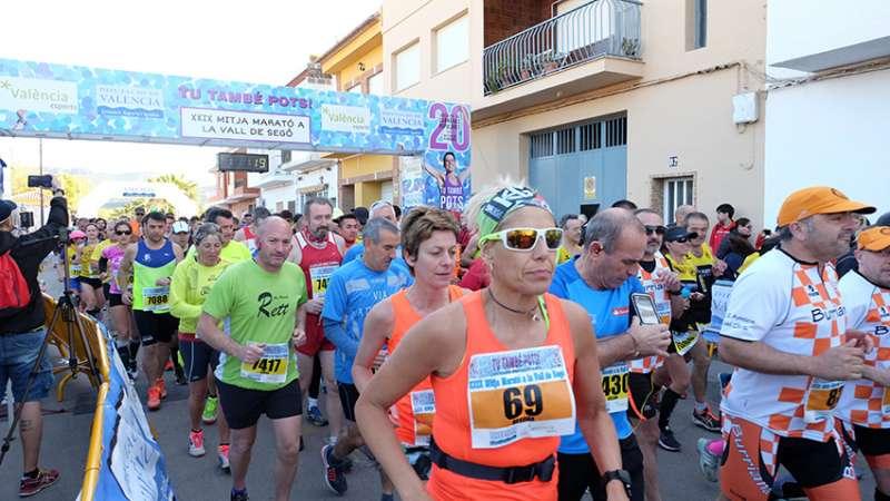 Media Maratón de la Vall de Segó. EPDA