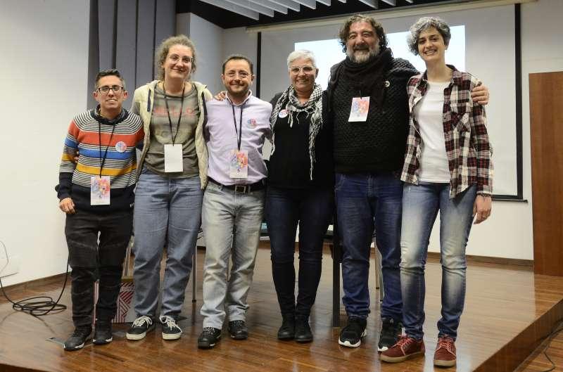 Miembros de la nueva junta de Lambda. EPDA
