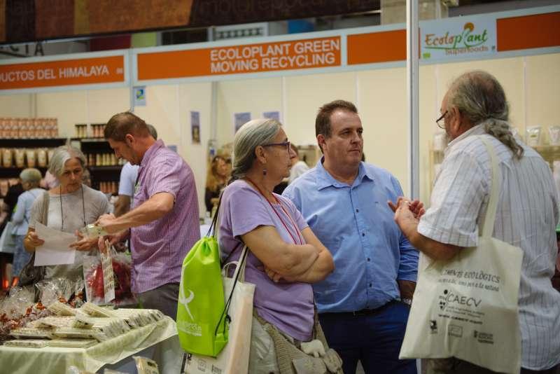 Edición pasada de la Feria Biocultura. EPDA