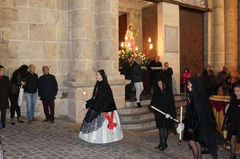 Segorbe no tendrá este año procesión de Santa Cecilia. Foto 2019
