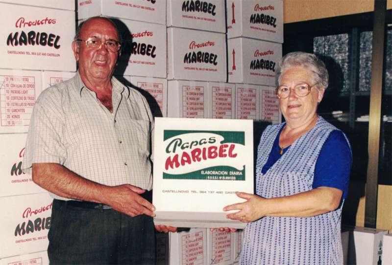Miguel y María, los pioneros de las papas Maribel