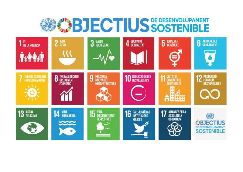 Objectius Agenda 2030./EPDA