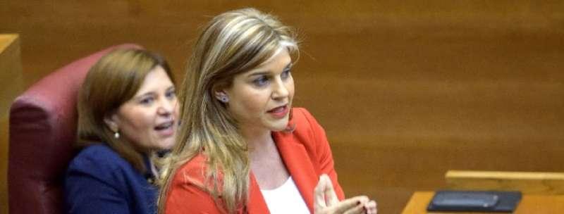 La secretaria general del Partido Popular de la Comunitat Valenciana, Eva Ortiz.