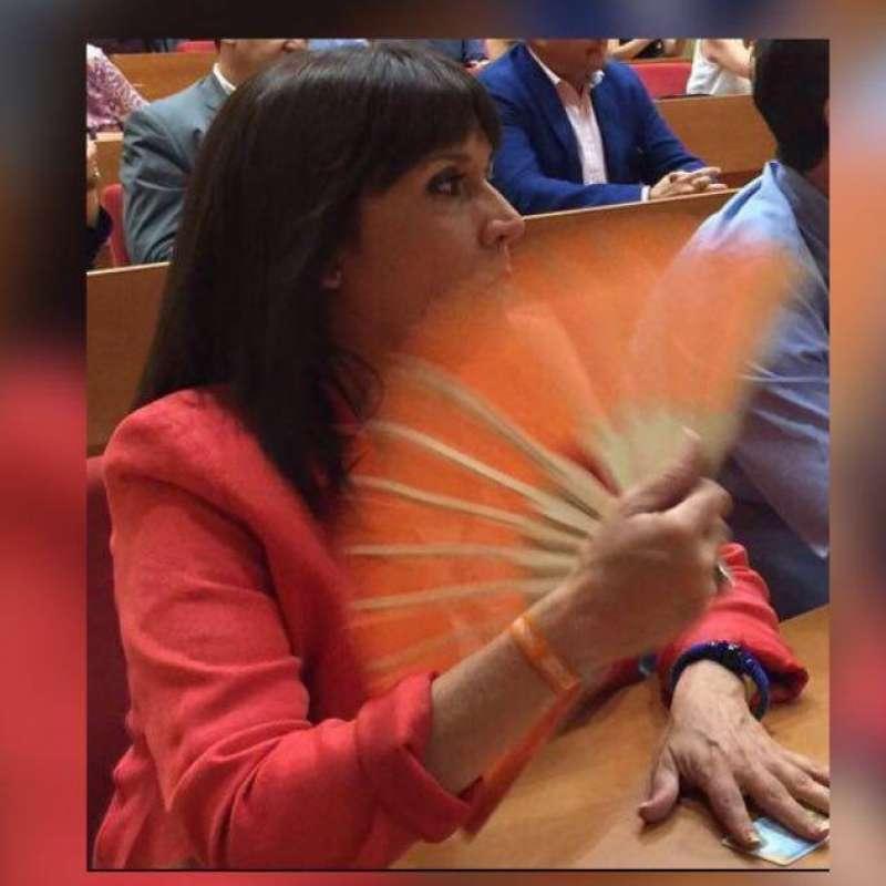 María Dolores Jiménez, activa concejala en el Consistorio de Valencia. FOTO EPDA
