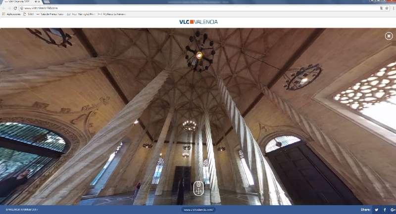 La Lonja de Valencia, Patrimonio de la Humanidad. FOTO EPDA