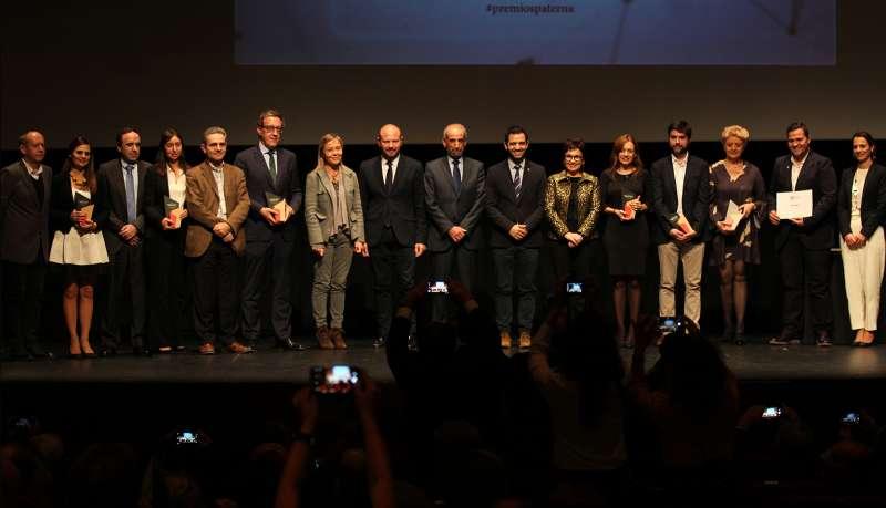 Ganadores de la nueva edición de los premios. EPDA