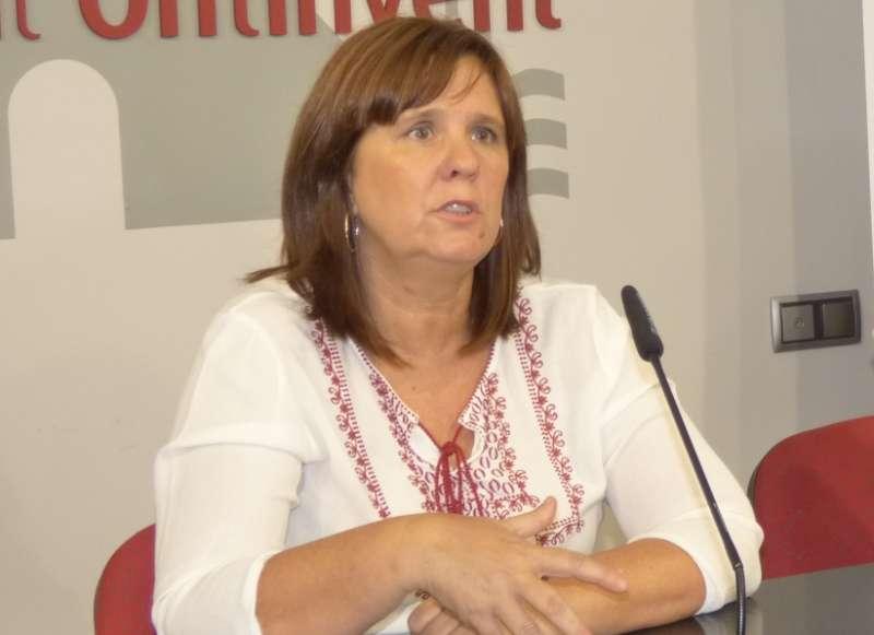La regidora coordinadora de l?àrea de Política per a les Persones, Sayo Gandia. EPDA