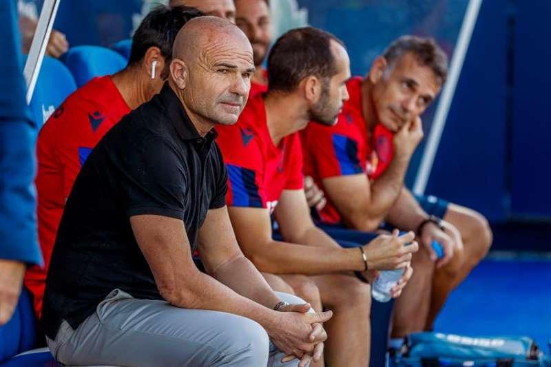 El entrenador del Levante, Paco López. EFE/Juanjo Martín/Archivo