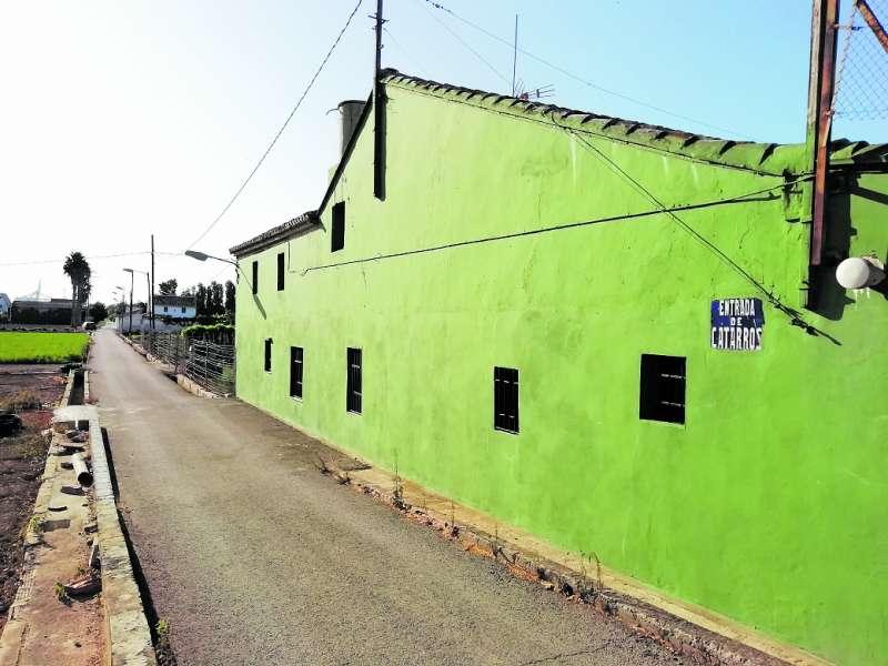 Otro camino de La Punta. H. G.