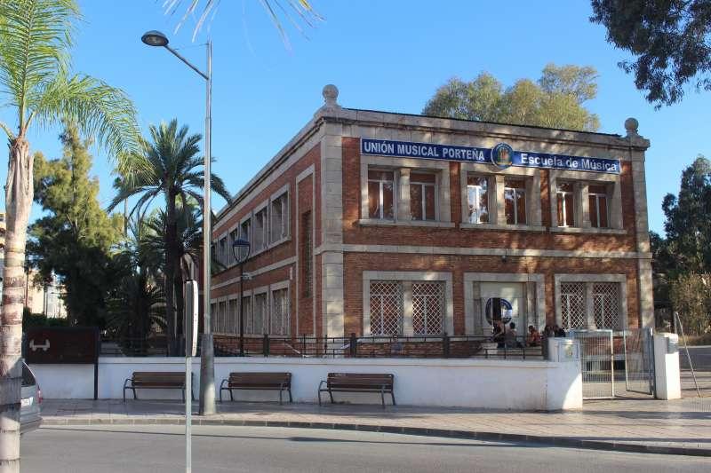 Instalaciones de la Unión Musical Porteña. EPDA