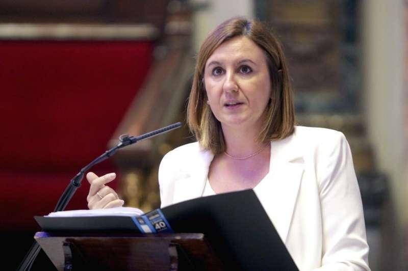 La portavoz del Grupo Popular, María José Catalá