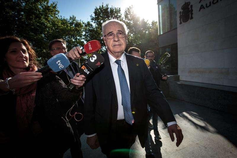 El exconsejero del PP Rafael Blasco, a su llegada a la Ciudad de la Justicia de València,en una imagen reciente. EFE