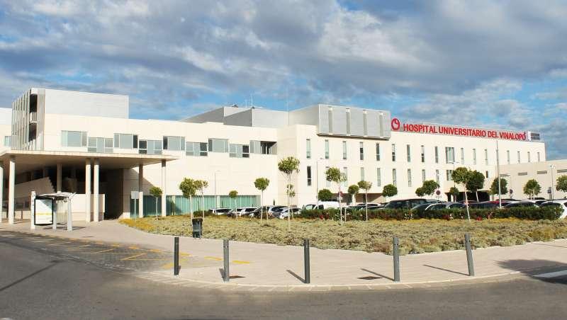 Fachada del Hospital de Vinalopó. EPDA