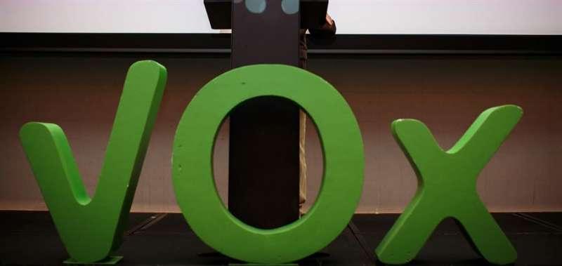 Imagen de archivo de un acto de Vox. EFE/Archivo