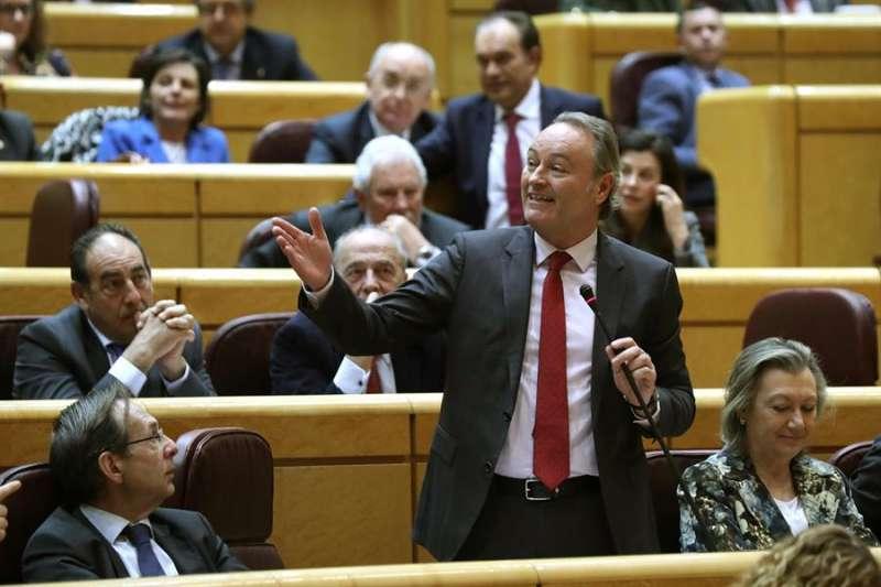 El senador y expresident de la Generalitat Alberto Fabra (PP). EFE/Archivo