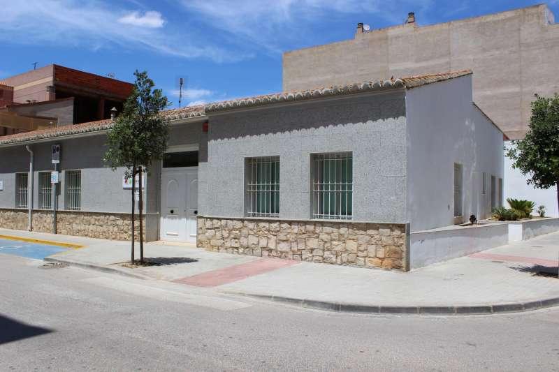 Centre ocupacional de la Pobla de Vallbona. / epda