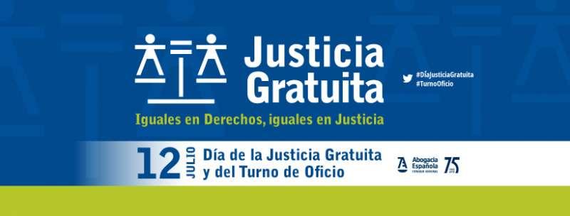 Cartel del Día de la Justicia Gratuita y del Turno de Oficio. EPDA