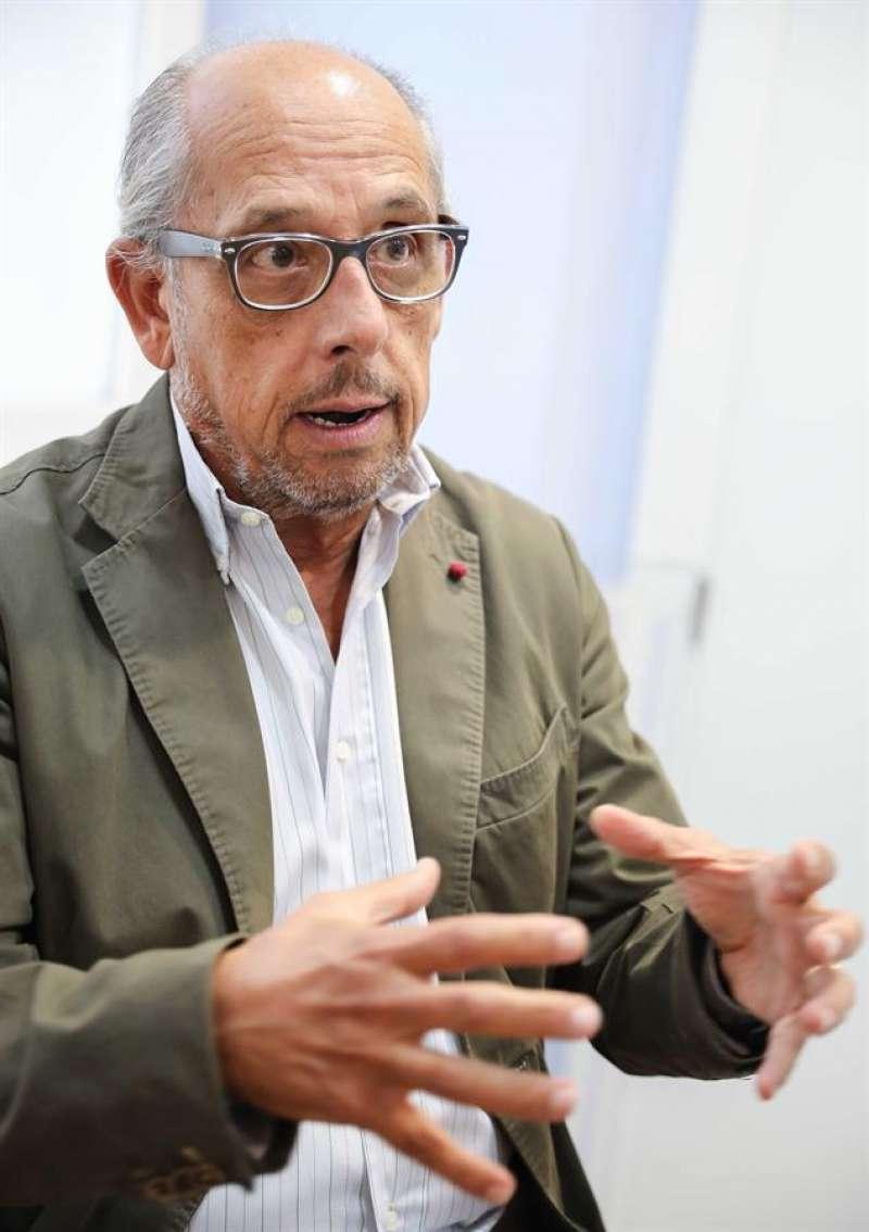 El presidente de la Sociedad Española de Pediatría Extrahospitalaria y Atención Primaria (SEPEAP), Fernando García-Sala. EFE