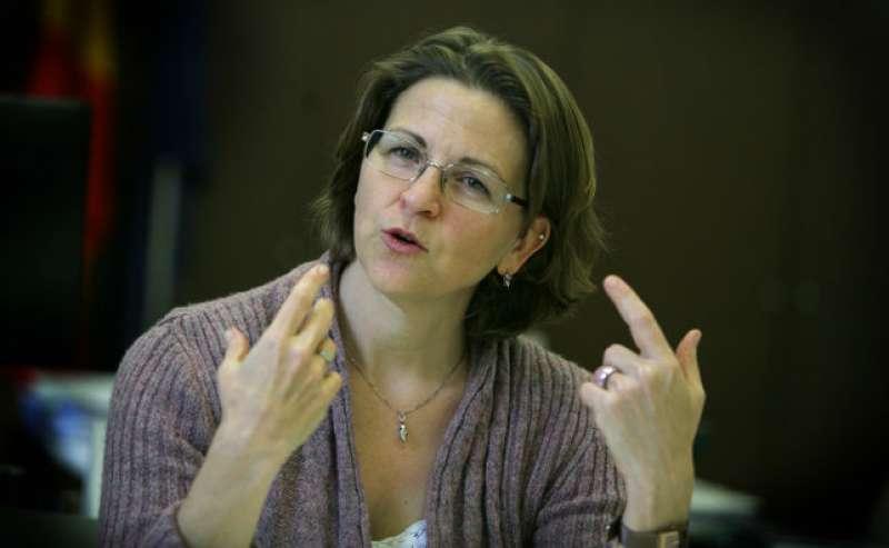 La consellera d?Agricultura i Medi Ambient, Elena Cebrián