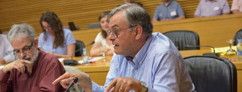 El Portavoz de Agricultura del Grupo Parlamentario Popular, José Ramón Calpe